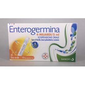 Enterogermina os 20 flaconi 4 miliardi 5 ml