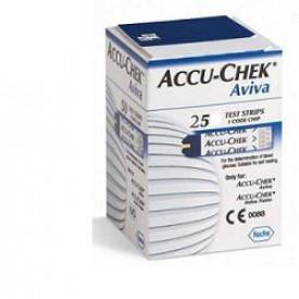 Accu-chek Aviva 25 striscia reattiva