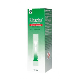 Rinazina Spray Nasale 15 ml 0,1 %