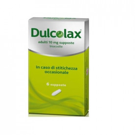 Dulcolax ad 6supp 10mg