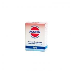 Acorin Gtt Orali S/alcol 30ml